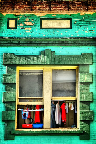 Just Another Wash Day by pat gamwell