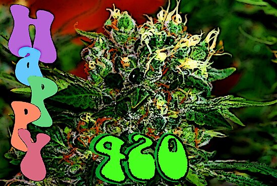 Happy 420 by FloraDiabla