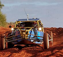 Car 164 - Finke 2011 Day 1  by Centralian Images