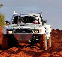 Car 402 - Finke 2011 Day 1 by Centralian Images
