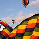 Tiverton Balloon Festival by Lorraine Parramore