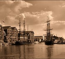 tall ships by brian pendrey
