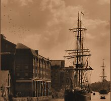 tall ships are comming by brian pendrey