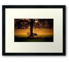 """""""RISING SUN"""" Framed Print"""