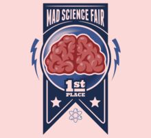First Place at the Mad Science Fair Color Kids Clothes