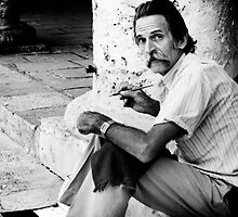 'The Artist' - Havana Vieja, Cuba by kaldis