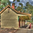 The Country Railway Station, Kandos, NSW, Australia by Adrian Paul