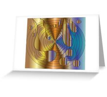 Let there be music..... Greeting Card
