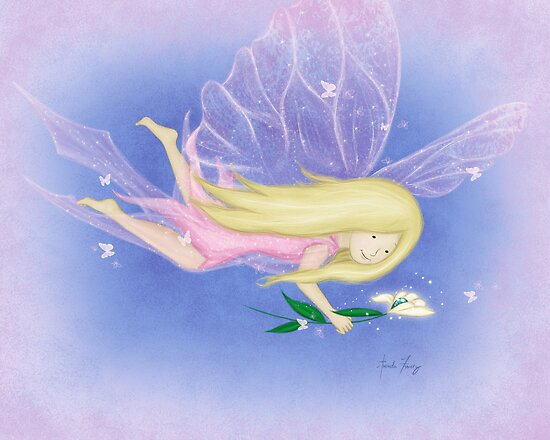 Breewyna the Butterfly Fairy by amalou