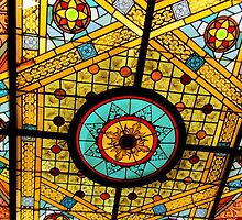 Opryland Hotel Stained Glass by Debbie Robbins