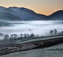 Helvellyn Across St John's In The Vale by SteveMG