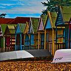 beach huts by Adrianbennet