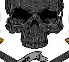 Game of Crossbones Sticker