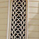Patterned window by Geraldine Miller