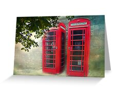 London Calling, Are we Reaching? Greeting Card