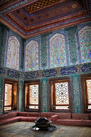 Turkey. Istanbul. Topkapi Palace. Harem. Apartments of crown prince. by vadim19