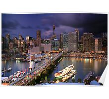 Dazzling Darling Harbour Poster