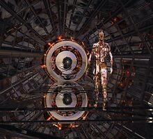 A. I. Guardian Stargate 5011 by Sazzart