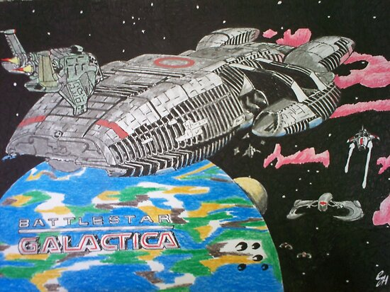 Battlestar Galactica Comic Book Image by chrisjh2210