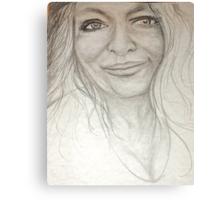 My Beautiful Silver Thread Canvas Print
