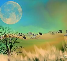GRAZING IN THE GRASS by Sherri     Nicholas