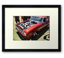 FORD 460 cubic inches with twin turbos Framed Print