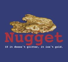 Nugget T-shirt Design by bybelenos