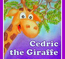 Cedric the Giraffe - Book Cover by Corrina Holyoake