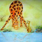 Cedric the Giraffe - Illustration 2 by Corrina Holyoake