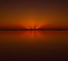 Sunrise Over The Coral Sea by 104paul
