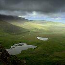 Clouds pass Connor Pass - Dingle Peninsula, Ireland by CliveOnBeara