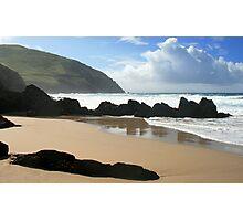 Coumeenole Beach, Dingle Peninsula, Ireland Photographic Print