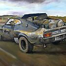 Max's Interceptor! by Wayne Dowsent