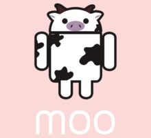 Droidarmy: Who let the cows out? Kids Clothes