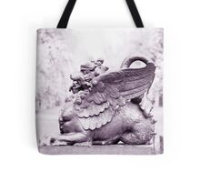 Gryphon statue  Tote Bag