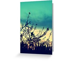 Reaching Greeting Card