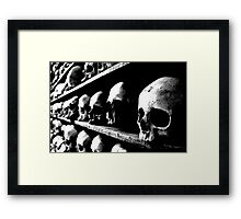 Death is not the greatest loss in life... Framed Print