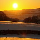 Winter sunset on a Dales afternoon by SteveFinch