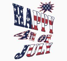Happy 4th of July- shirt by haya1812