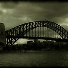 Sydney Harbour Bridge and Ferry by Andrew Wilson