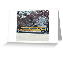 Hummer Stretch Limo Greeting Card