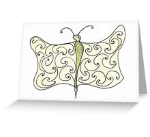 worm with wings Greeting Card