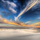 White Sands NM – Sunset by Ted Lansing