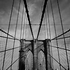 New York City, Brooklyn Bridge by thomasrichter