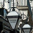 Lyceum Tavern lamps, London by Paris Franz