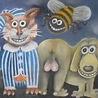 The Cat's Pyjamas, the bee's knees and the dog's bollocks. by Caroline  Peacock