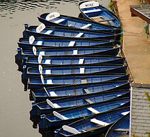 Boats at Knaresborough by SWEEPER
