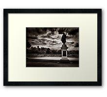 Salts Park Framed Print