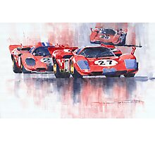 Ferrari 512 S 1970 24 Hours of Daytona Photographic Print