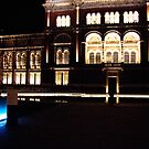 Reflecting Pool at V&amp;A at night by PhotosbyDrJ
